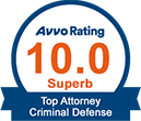 10.0 Superb Criminal Defense